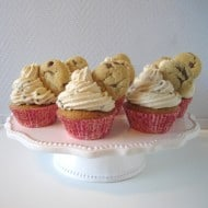 Chocolate Chip Cookie Cupcakes