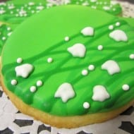 Lilly of the Valley Cookies