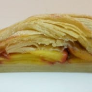 Rustic Braided Peach Strudel