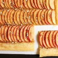 Rustic Apple Almond Tart