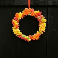 Fall Cookie Wreath