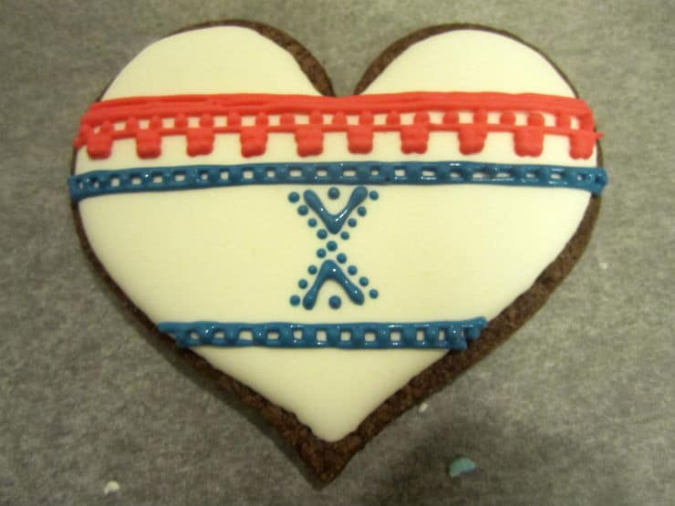 Norwegian Marius cookies