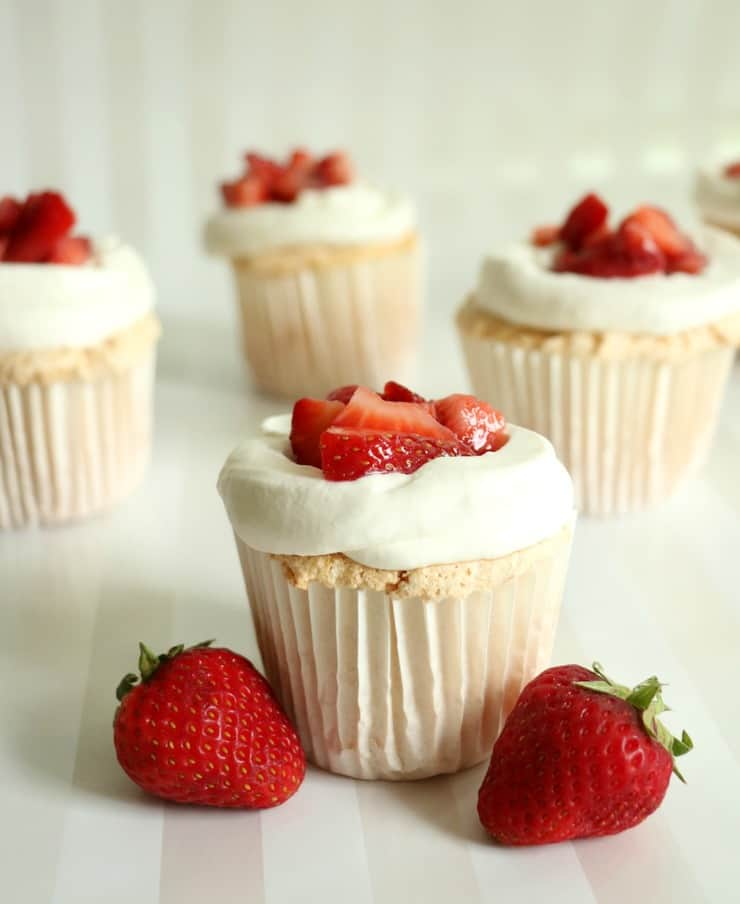 Strawberry Shortcake Cupcakes - The Simple, Sweet Life