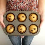 Chocolate Chip Cookie and Sea Salt Muffins