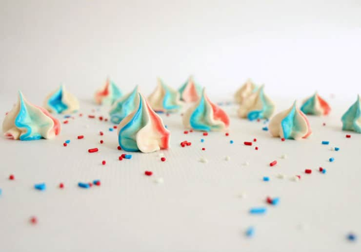 4th of July meringues