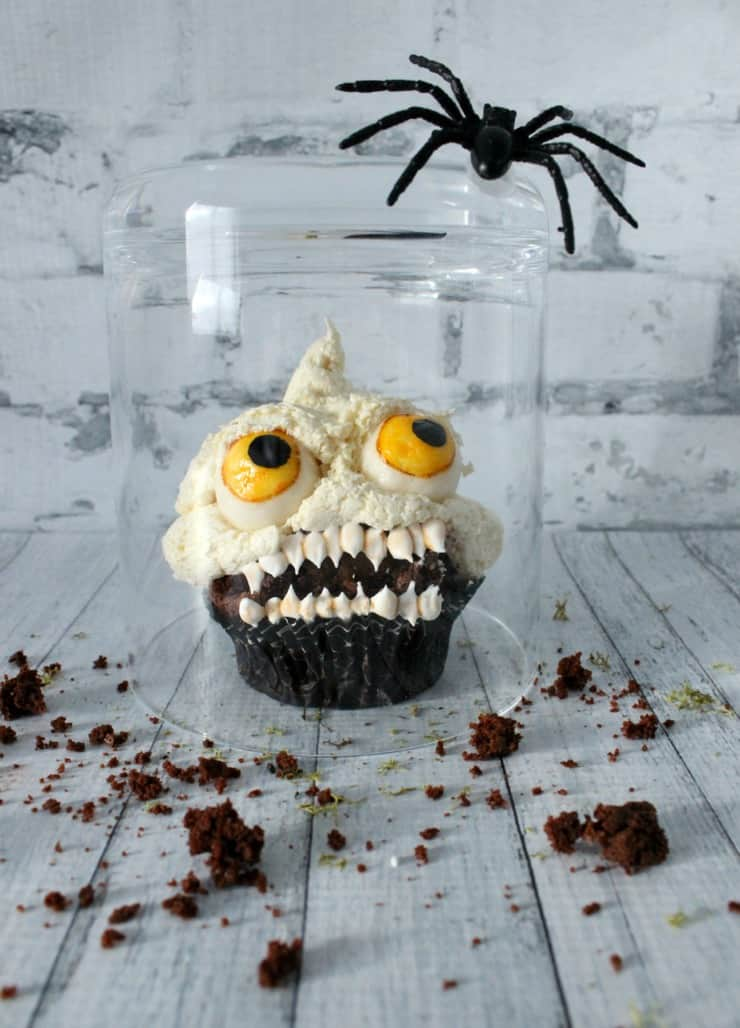 Learn how to make these killer cupcakes! They're so easy and perfect for your Halloween party!