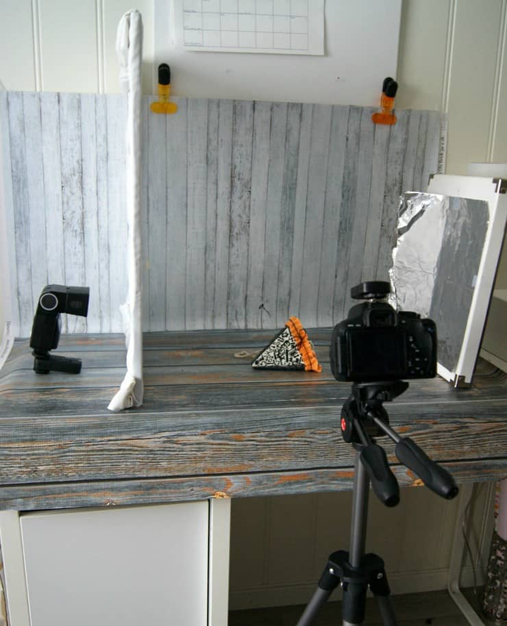 Set up with tripod