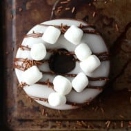 Hot Chocolate Doughnuts