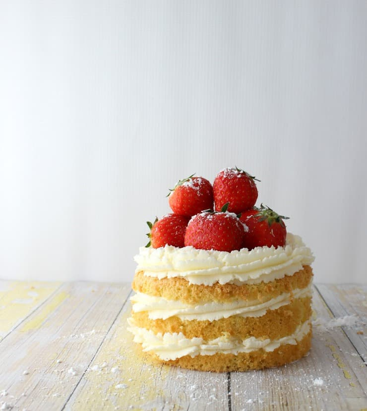 Sweet And Simple Naked Wedding Cakes: The Simple, Sweet Life