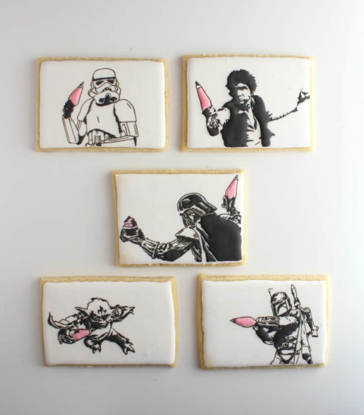 Celebrate May the 4th (with be with you) with these Star Wars cookies!