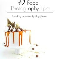 5 Food Photography Tips