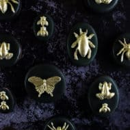 Gilded Insect Cookies