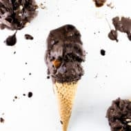 No-Churn Chocolate Stout Ice Cream