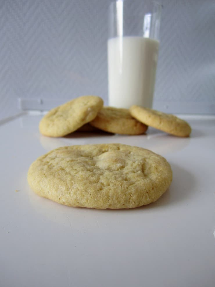 Lemon and White Chocolate Cookies - The Simple, Sweet Life