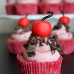 Cherry Garcia Inspired Cupcakes