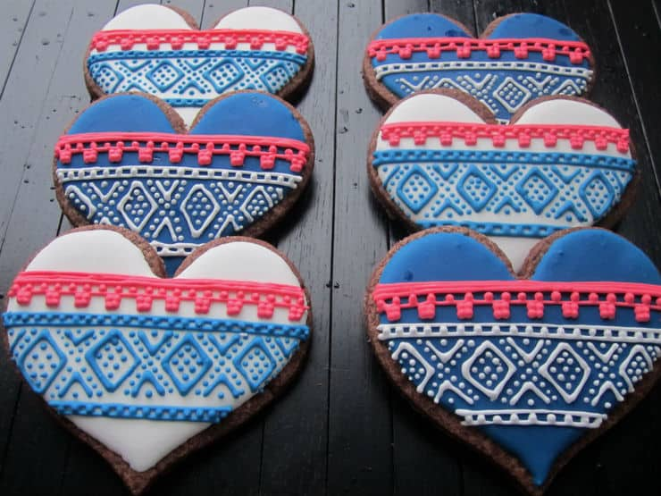 Norwegian Marius genser cookie