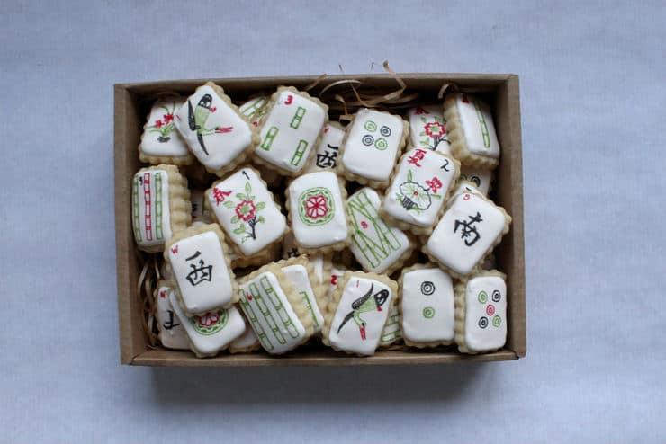 chinese mahjong cookies