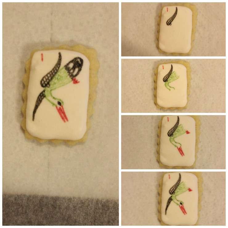 crane cookie