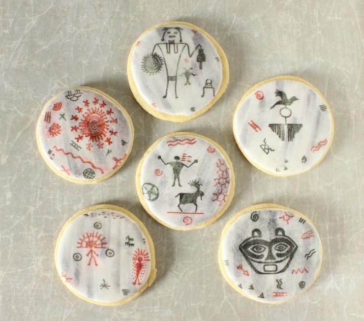 cave art cookies