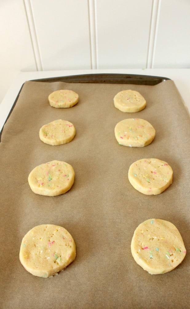 sliced sugar cookies