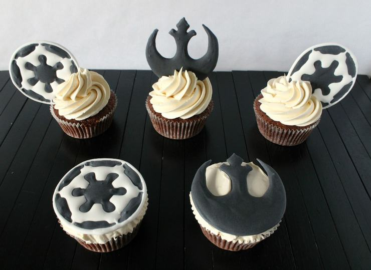 may the 4th cupcake toppers