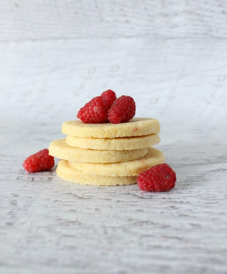 raspberry lemonade sugar cookies
