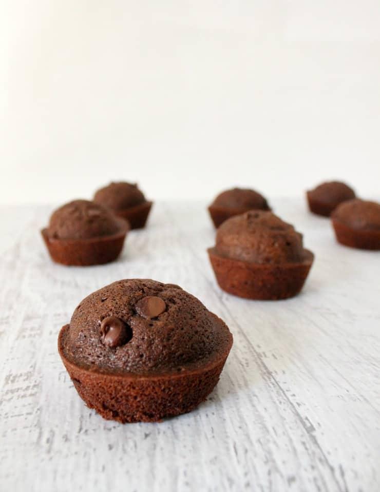 Double chocolate muffin recipe