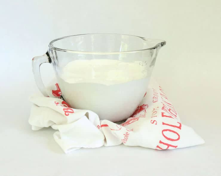 whipped meringue