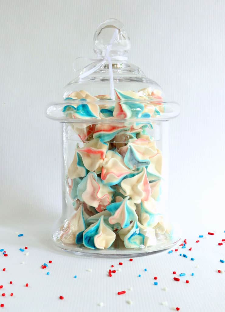 Star Spangled Meringues - The Simple, Sweet Life