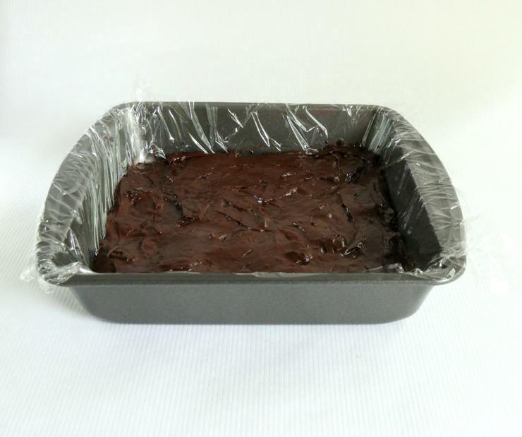 chocolate cherry fudge prep