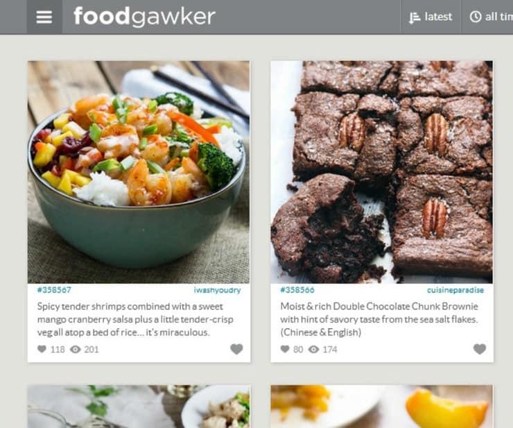 food blog promotion