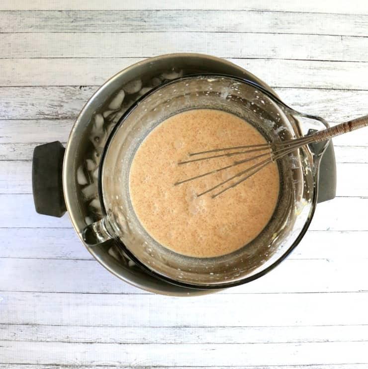 vanilla cinnamon ice cream base
