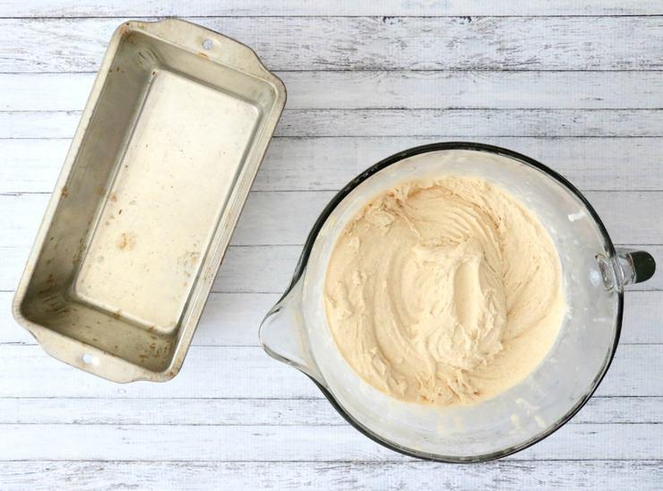 preparing ice cream for freezing