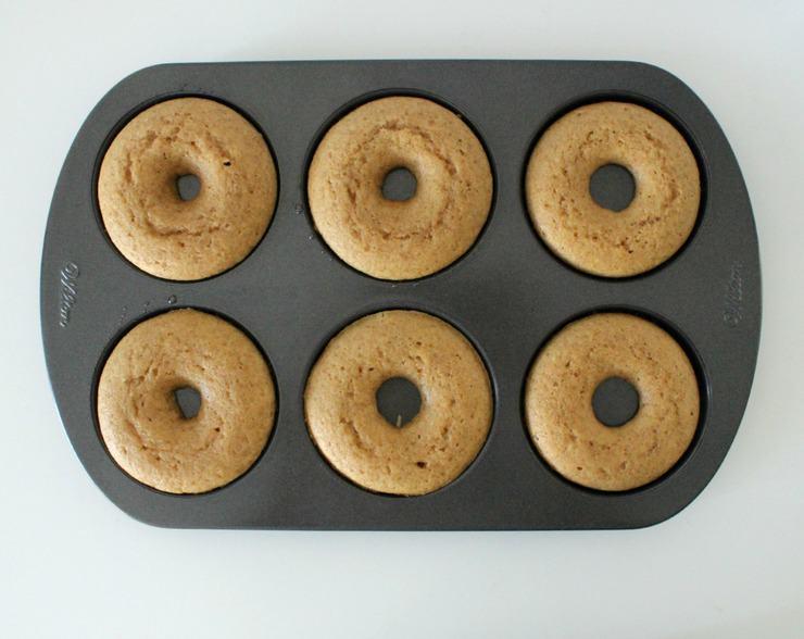 baking doughnuts