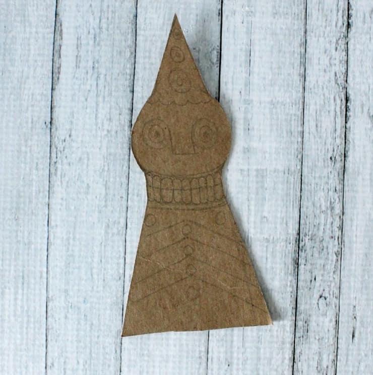 Making a cookie cutter stencil