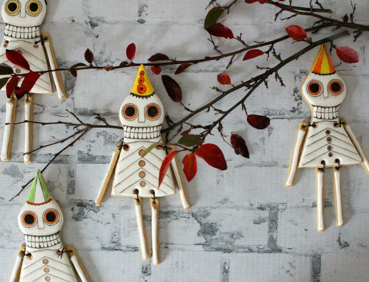Halloween cookie ornaments