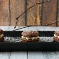 Mexican Hot Chocolate Macarons