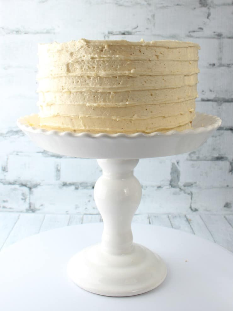 creating textured frosting