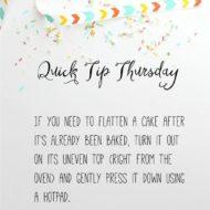 Quick Tip Thursday #2!