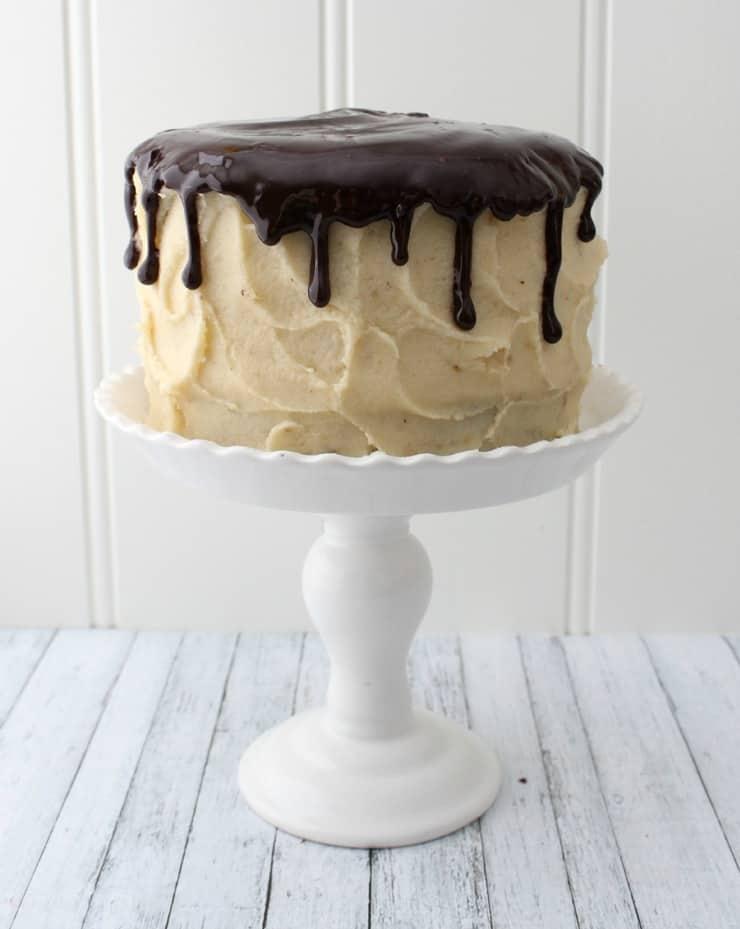 ganached cake