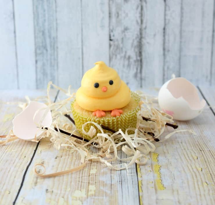 These Easter cupcakes are so cute and easy to make!