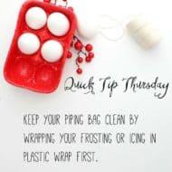 Quick Tip Thursday #3!