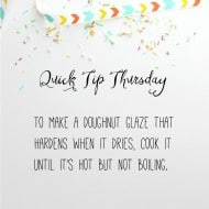 Quick Tip Thursday #6!