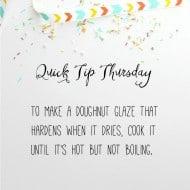 Quick Tip Thursday #6!