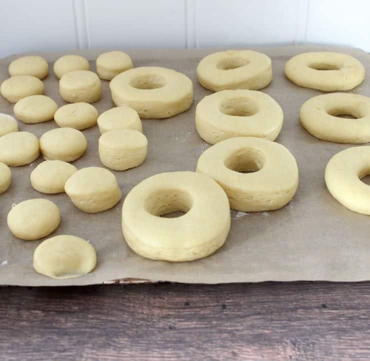 Making doughnuts