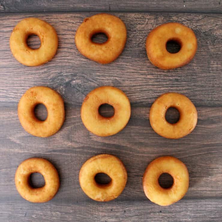 Fried doughnuts