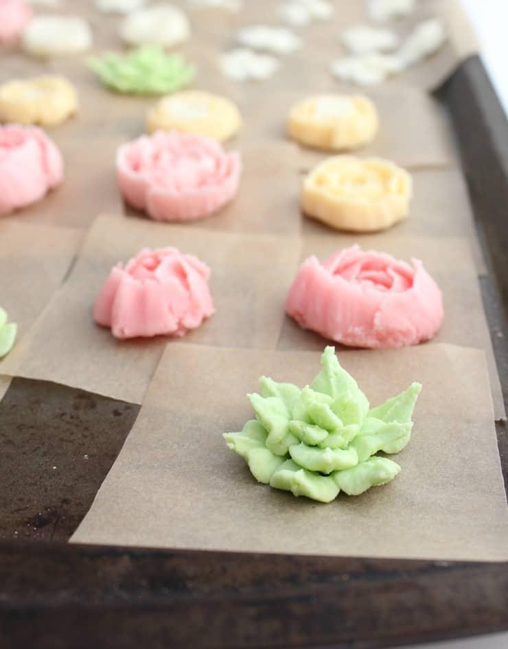 Buttercream Flower Cake - The Simple, Sweet Life
