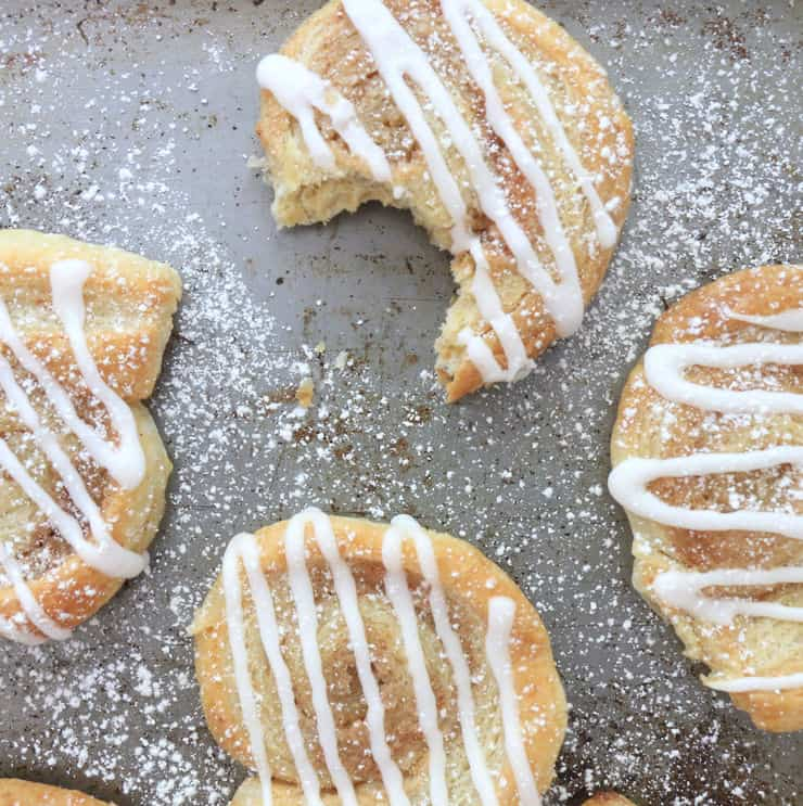 Puff pastry cinnamon roll recipe