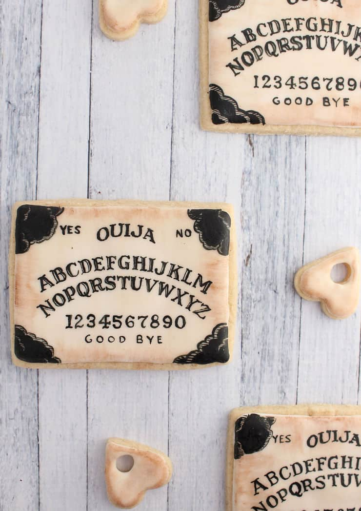 Cookie Ouija board tutorial | The Simple, Sweet Life