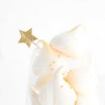 Get your year off to a bubbly start with these champagne meringues!   The Simple, Sweet Life